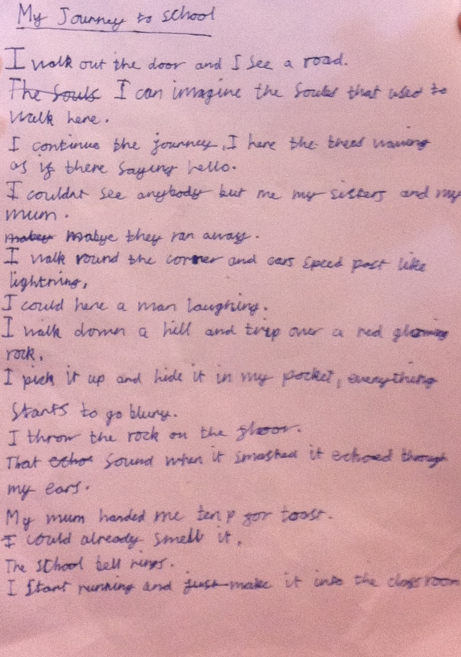 Journey Poems from the students at King's Forest School